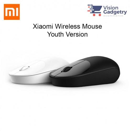 3e94c776fe4 Xiaomi Mouse Bluetooth 2.4G Dongle Wireless Aluminium 2018 Model Black  XMSB02MW   Shopee Malaysia