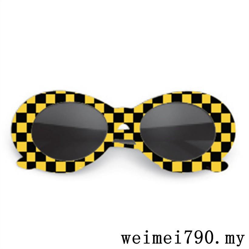 f1ba82eabf032 UVLAIK Clout Goggles NIRVANA Kurt Cobain Round Sunglasses For Women Mirror  Glass