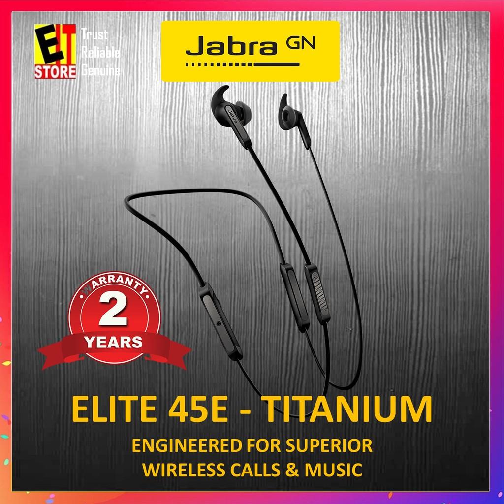 a046644fd3c ORIGINAL JABRA ELITE 45E SUPERIOR WIRELESS CALLS AND MUSIC (COPPER BLACK) |  Shopee Malaysia