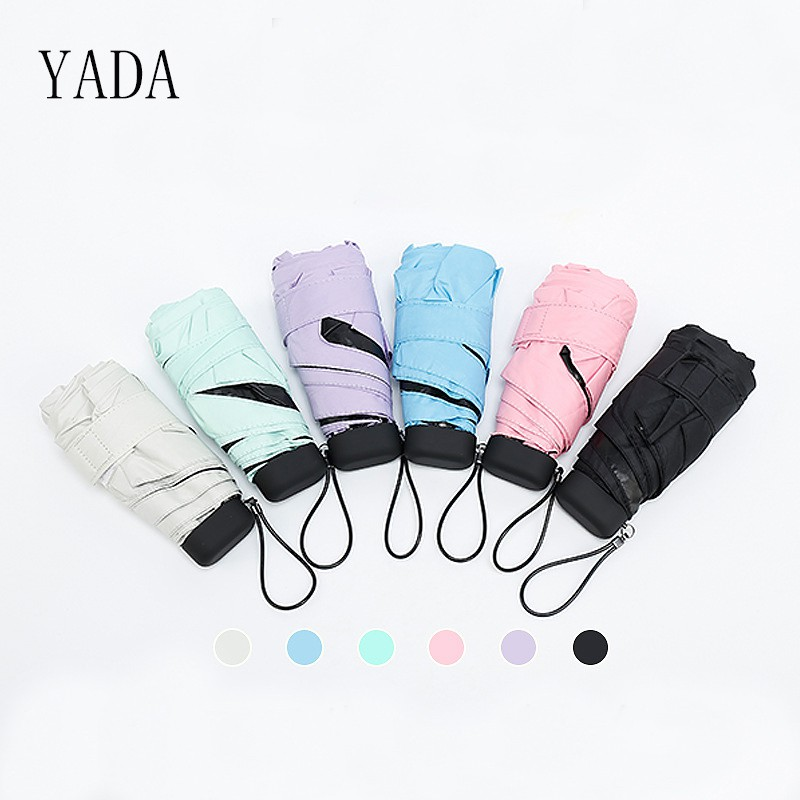 YADA High Quality Rain Women Mini Umbrella For Womens Folding Umbrellas  YS001