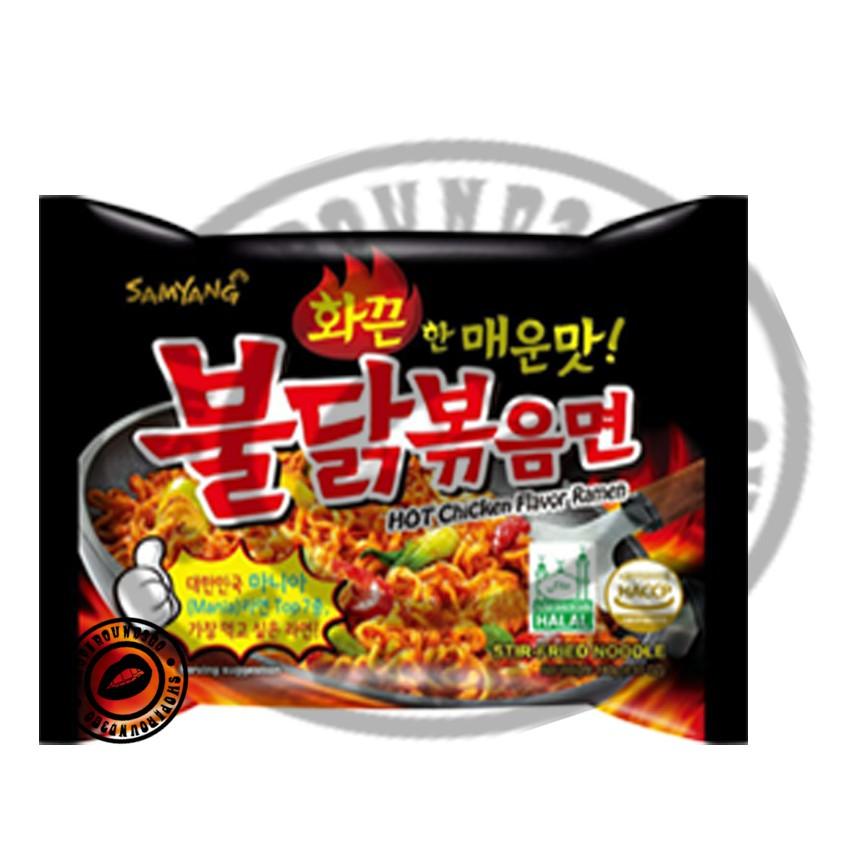 SAMYANG HOT CHICKEN RAMEN- HALAL - 1Pack - 0.14kg - READY STOCK