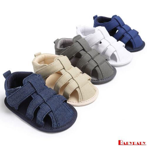 AMM-Infant Toddler Kids Baby Boy Girl Soft Sole Crib Shoes ...