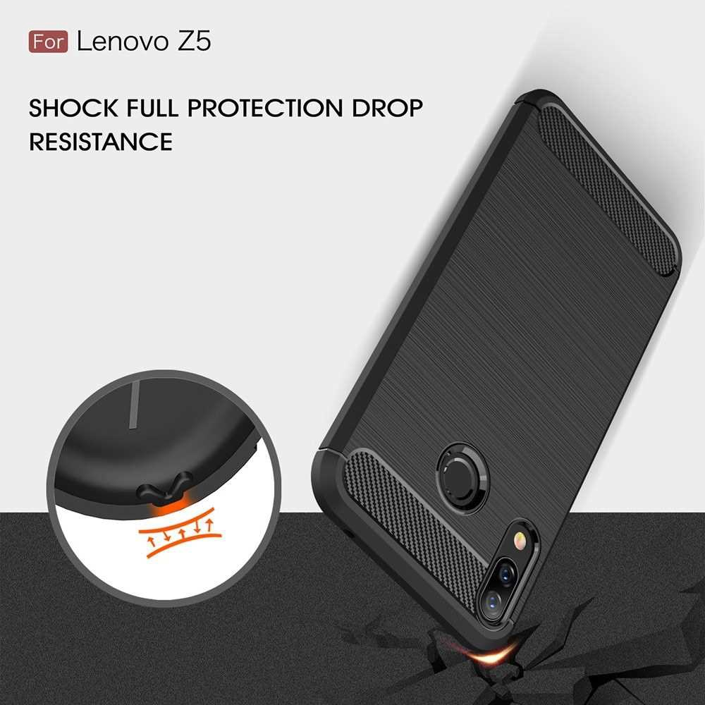 Phone Protective Case for Lenovo Z5 Cover 6.2inch Bumper Eco-friendly Stylish Portable Anti-scratch Anti-dust Durable (