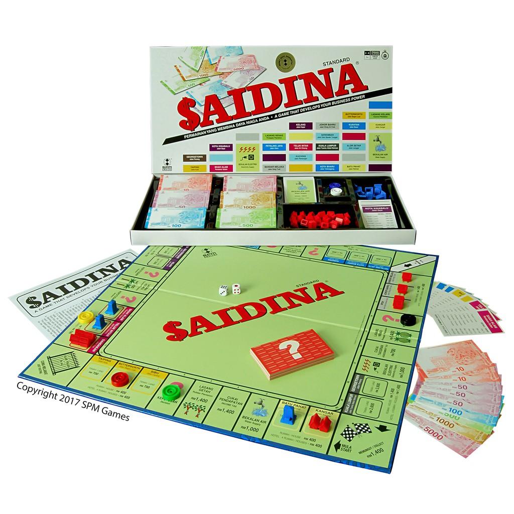 Saidina Standard SPM21 (BM/Eng) BoardGames Millionaire/Jutaria SPM 21