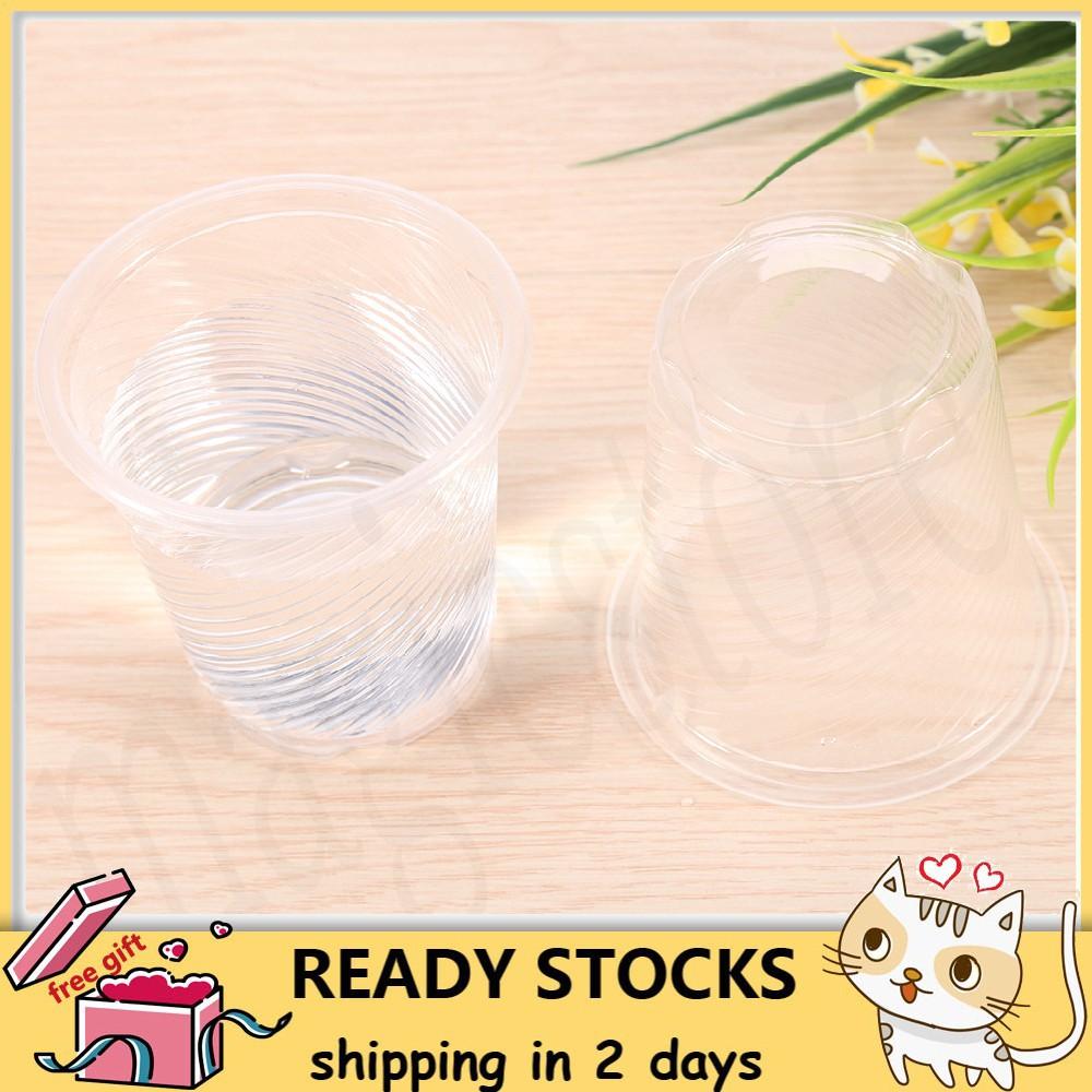❣️ 💕 💞 💓50pcs Plastic Disposable Drink Cups💗 💖 💘 💝