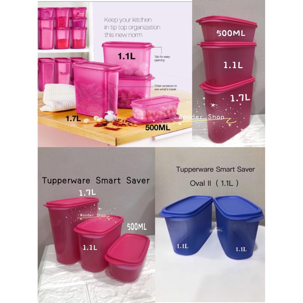 Tupperware Smart Saver Oval I / II / III