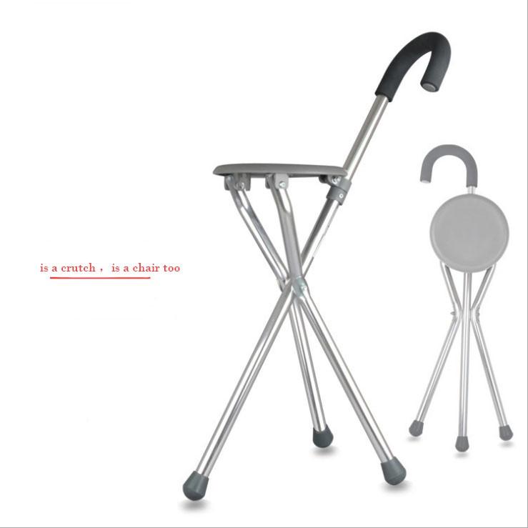 Brilliant Ce Fda Crutches Stool The Aged Stick Triangle Stainless Steel Fold Walking Stick Creativecarmelina Interior Chair Design Creativecarmelinacom