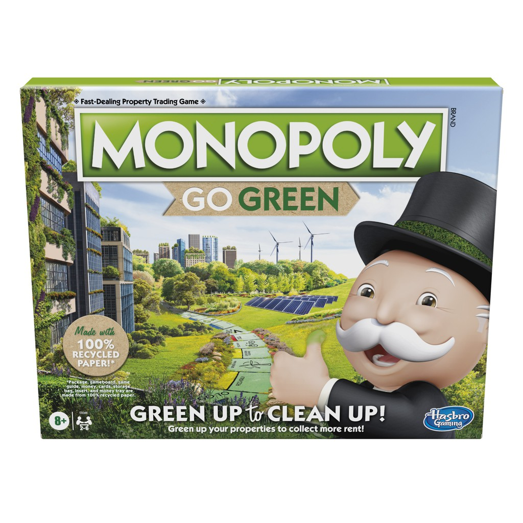 Hasbro Monopoly: Go Green Edition