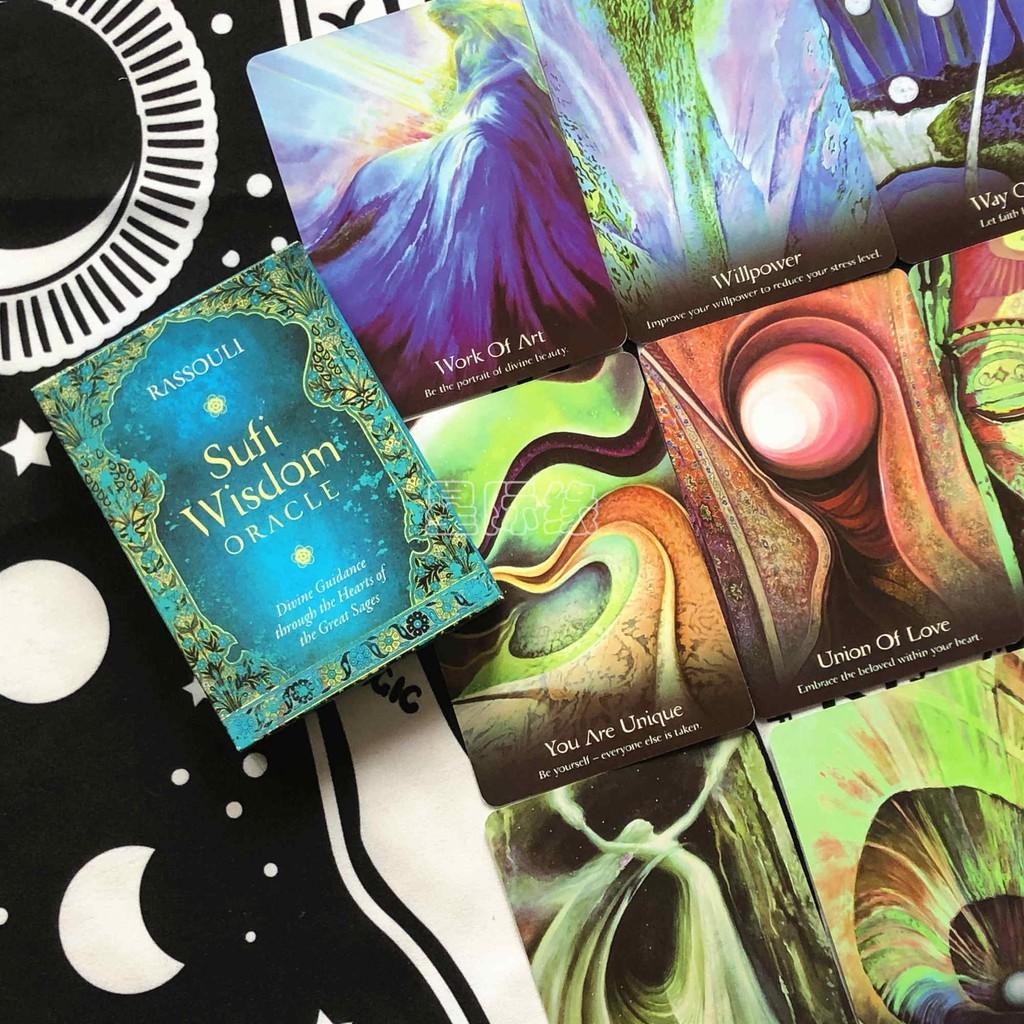 Spot Sufi Wisdom Oracle Sufi Wisdom Oracle Card to send card bag   Shopee  Malaysia