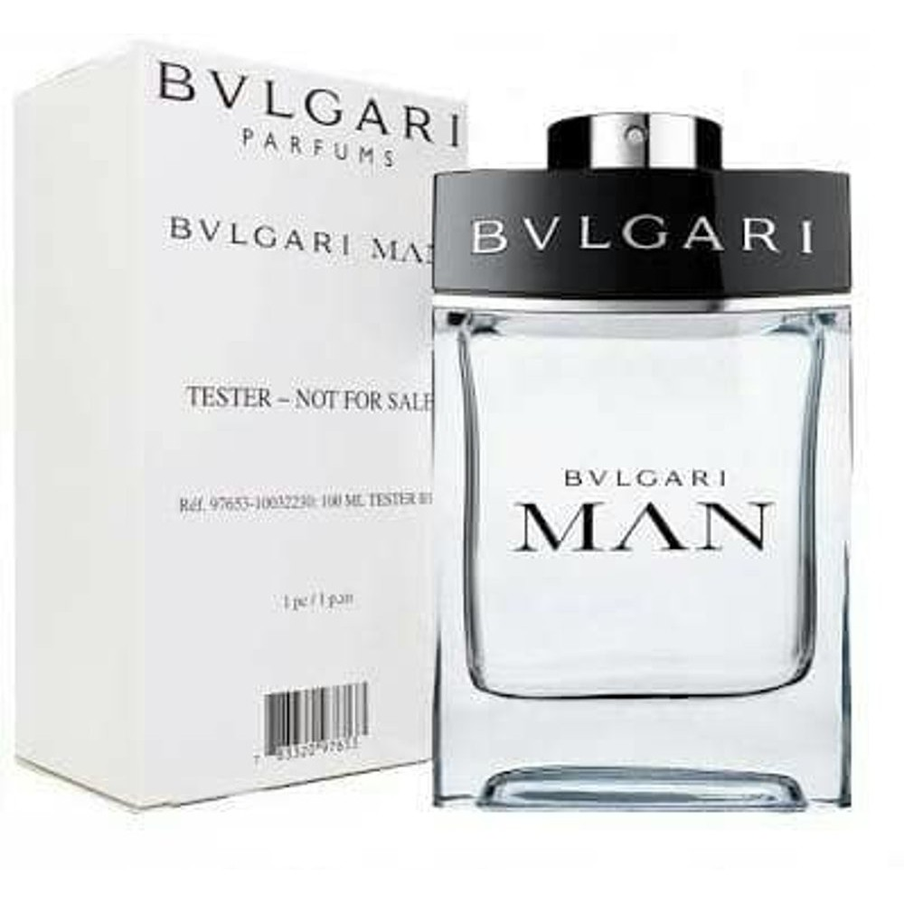Bvlgari Man Tester Edt 100ml Shopee Malaysia Bvgari Parfume