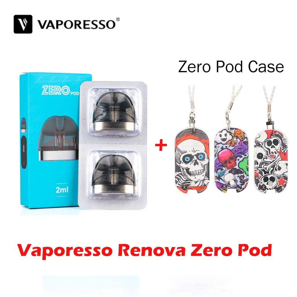 2PCS Original Vaporesso Renova Zero Pod Replacement OCC 2ml Catridge for  zero kit