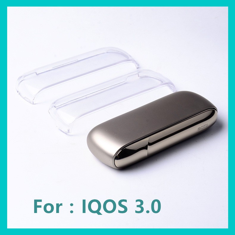 For IQOS 3 0 Electronic Cigarette For IQOS Full Protective PC Transparent  Case
