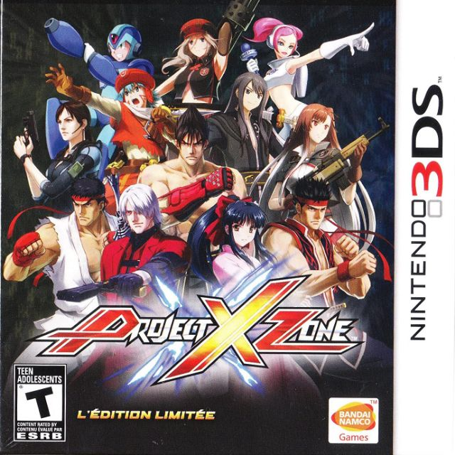 Original Nintendo 3DS Project X Zone Limited Edition