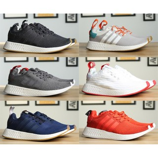 online store f3cf0 07988 [ready stock] original Adidas NMD R2 CNY Running shoes Men Sneakers boost