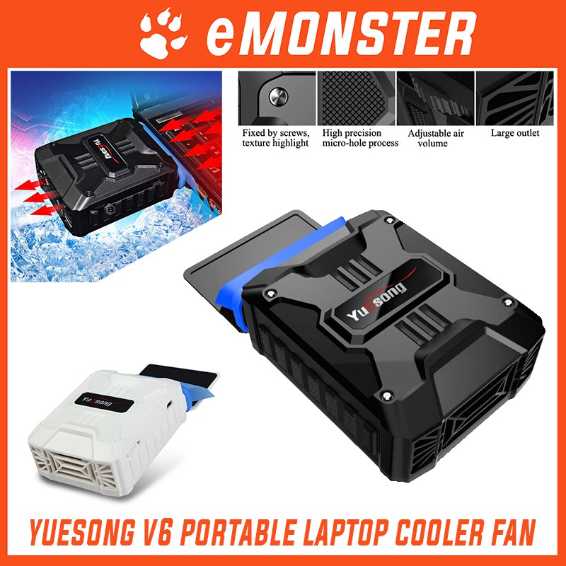 YueSong V6 USB Portable Laptop Air Vacuum Cooler Cooling Fan Laptop Fan | Shopee Malaysia