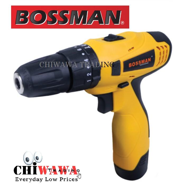 BOSSMAN Combi Drills 12V Li-lon Cordless Impact Wrench BGSB120 Quality PowerTool