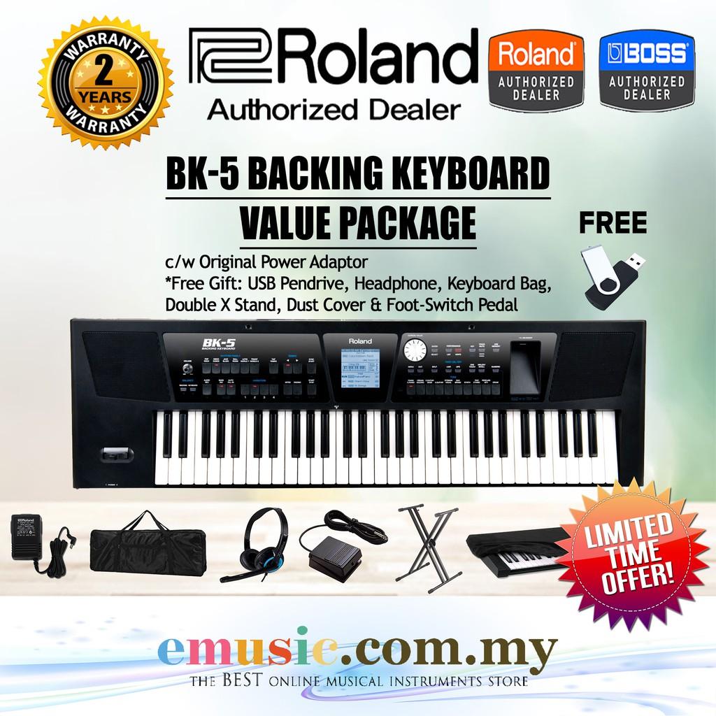 Roland BK-5 Backing Keyboard (BK5)
