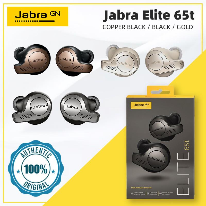 Jabra Elite 65t Copper Black Shopee Malaysia