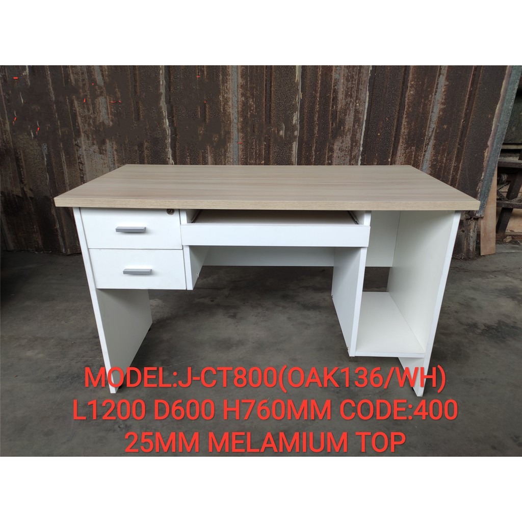 OFFICE TABLE STUDY TABLE Modern Computer Laptop Desk Study Table With 2 drawer