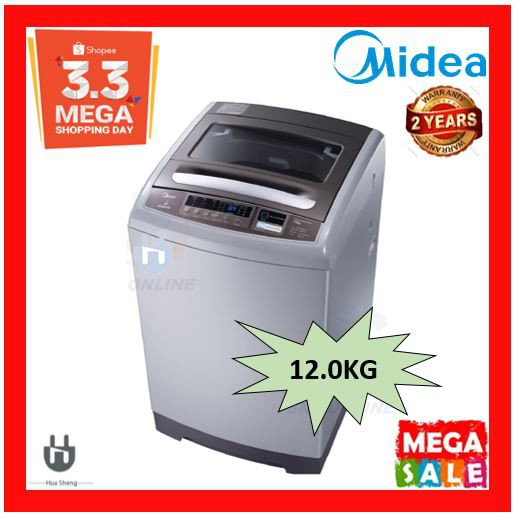 MIDEA 12KG WASHING MACHINE FULLY AUTO 12KG MFW-1250MV2