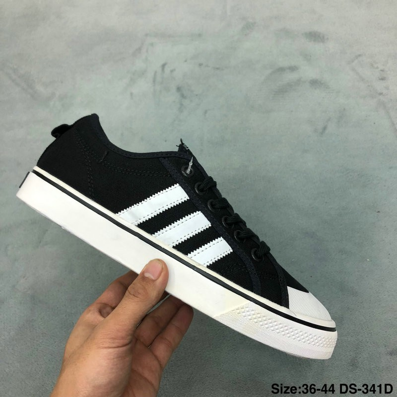 original Adidas NIZZA Canvas 2019 New Fashion Trends Sneakers Casual Shoes
