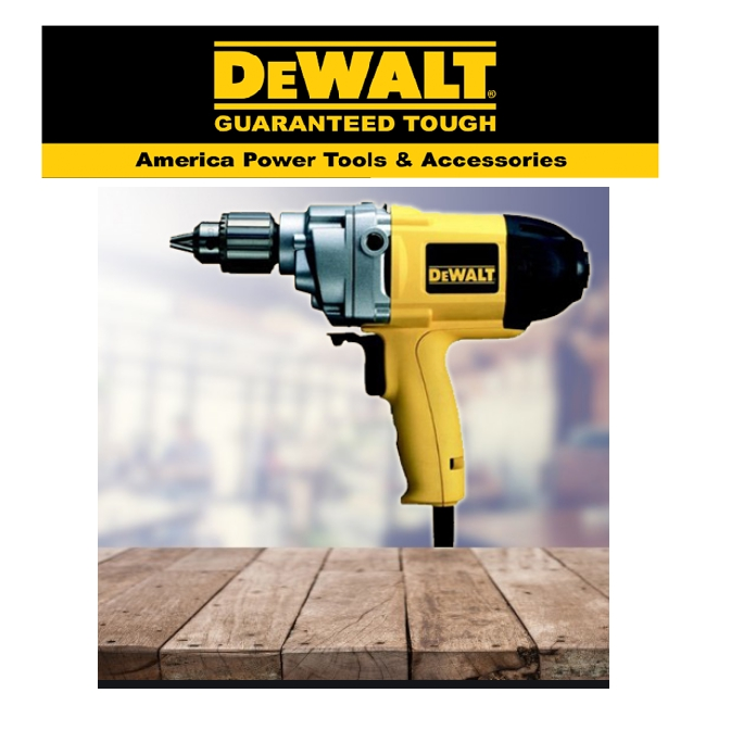 READY STOCK !!!DEWALT D21520-QS 710W MIXER 550RPM ROTARY DRILL 13MM EASY USE SAFETY GOOD  QUALITY