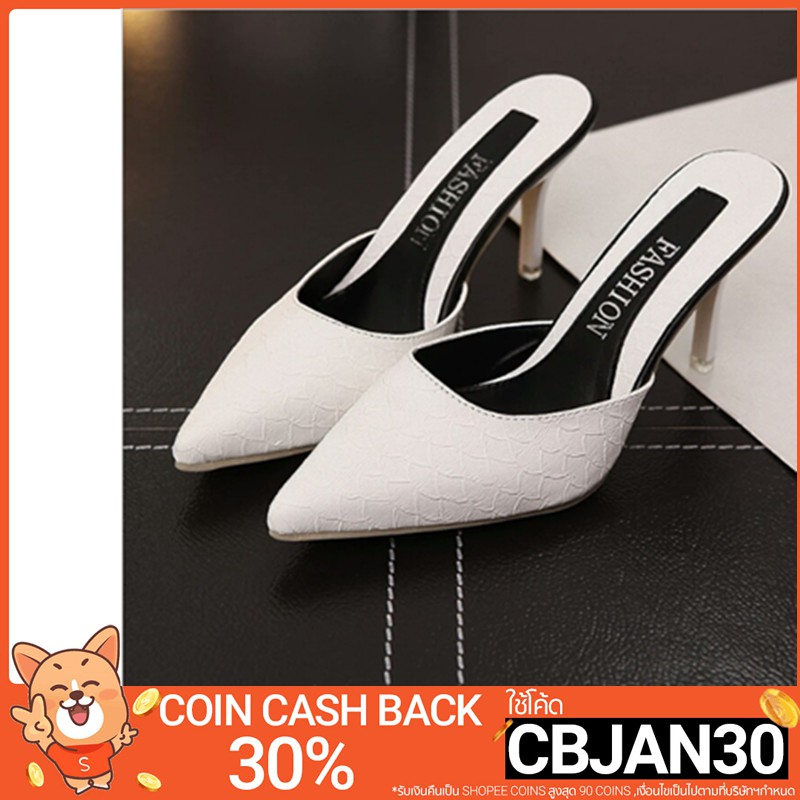 High heel sandals Wear slippers in sexy fashion ส้นเข็ม ผู้หญิงส้นรอ