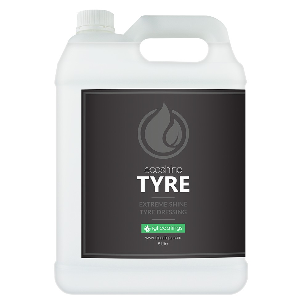 IGL Coatings Ecoshine Tyre Car Rubber Tire Protection Dressing Conditioner (5L)