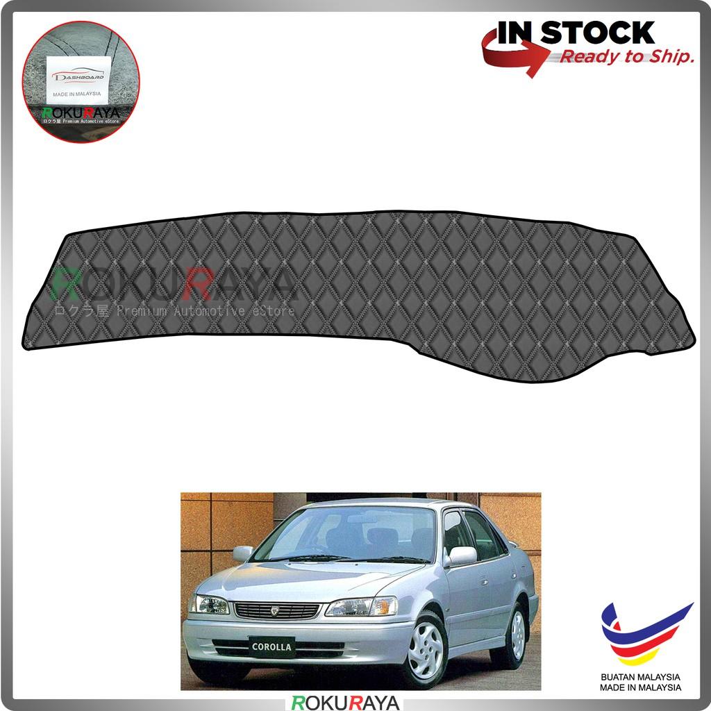 Toyota Corolla SEG111 AE110 (8th Gen) 1995-2000 RR Malaysia Custom Fit Dashboard Cover (BLACK LINE)