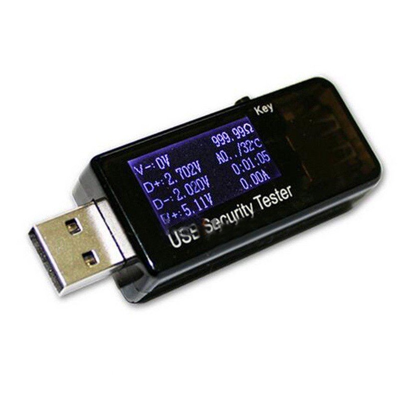USB Charger Voltage Current Meter Mobile Battery Tester Power Detector UK