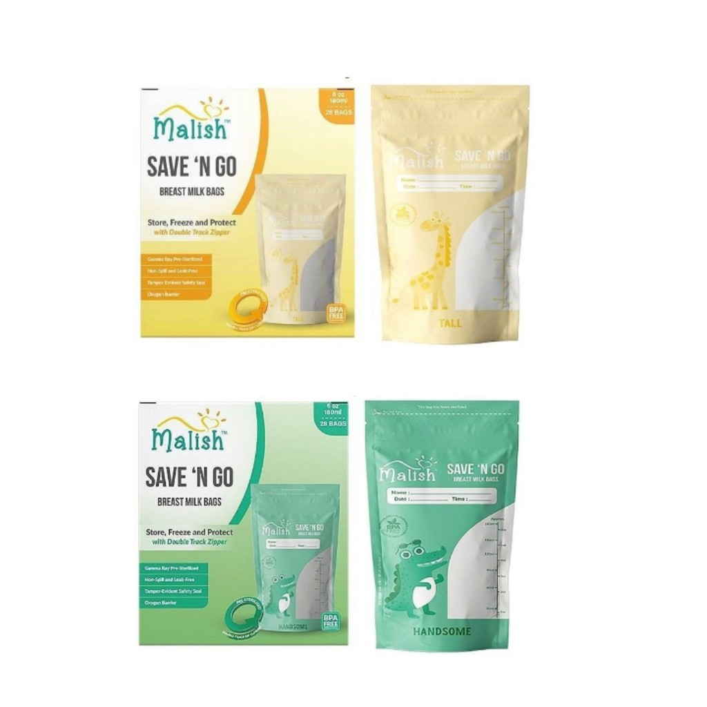 Breast Milk Storage Bag Pack of 150 BPA Free Sterilised for Breastfeeding Gabag