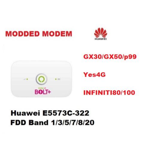 E5573cs-322 Modded GX30/GX50/P99/i80/i100/Yes4G