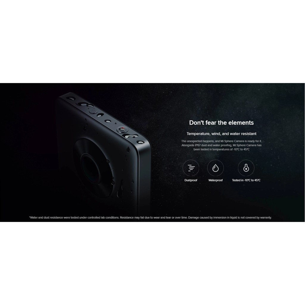 Xiaomi Mi Sphere Camera Kit Black (Mi Malaysia Warranty