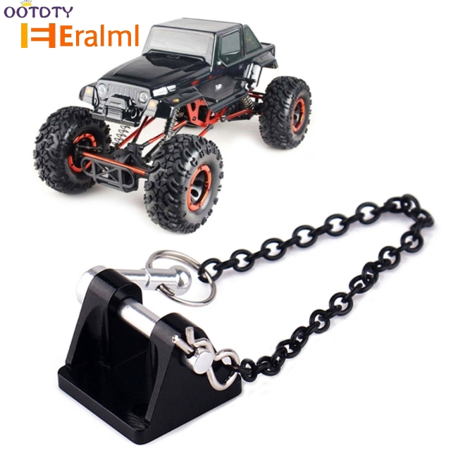 1//10 Scale RC Car Trailer Winch Hooks for Axial SCX10 RC4WD D90 Spare Parts
