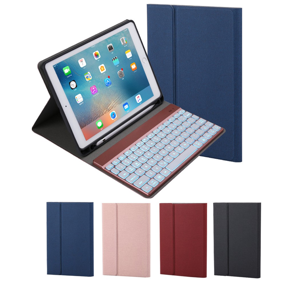 Ultra Thin Stand Case Cover With Detachable Wireless Bluetooth Keyboard For Ipad Air 10 5 2019 Ipad Pro 10 5 2017 Tablet Ipad Air 3 10 5 Keyboard Case With Pencil Holder 3rd Gen