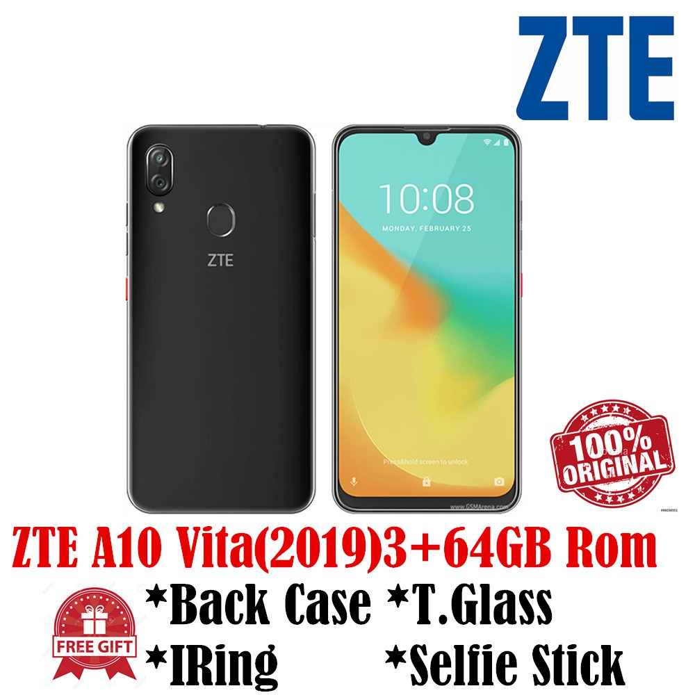 ZTE V10 Vita 3+64GB Rom 4G(ZTE Official 1 Years Warranty)