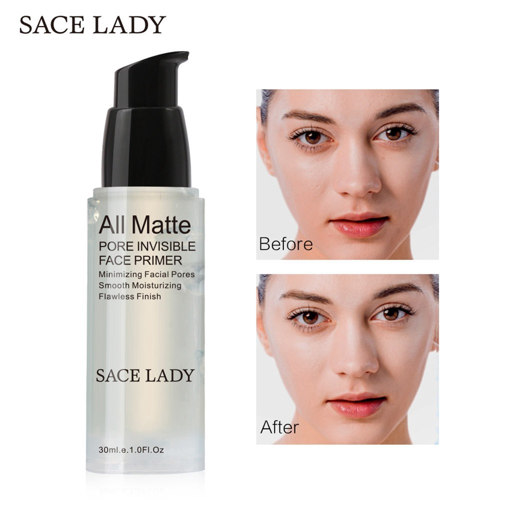 Sace Lady Matte Pore Minimizer Face Primer Long Lasting Smooth