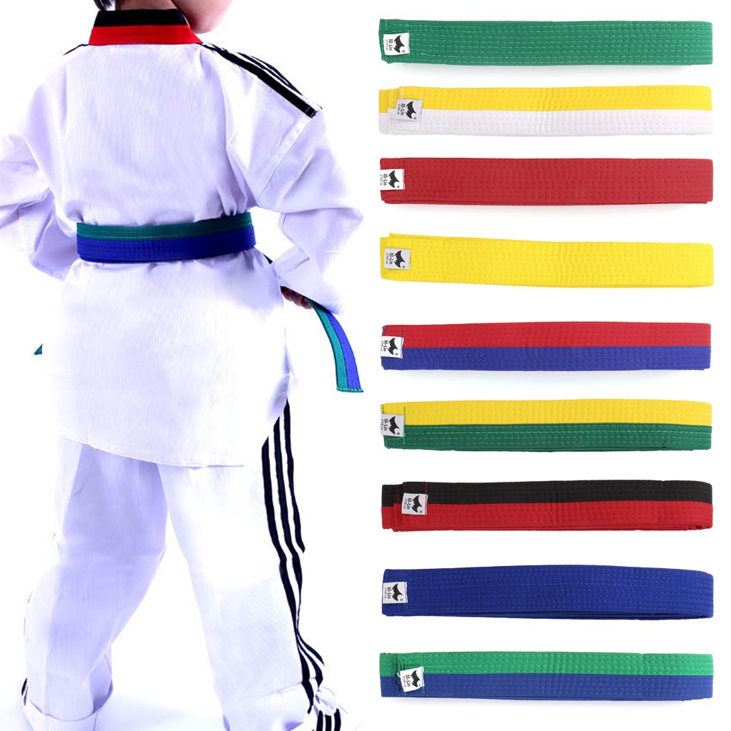 1Pc Randomly Karate Judo Martial Taekwondo Belt For Adults And Kids Waistband DO