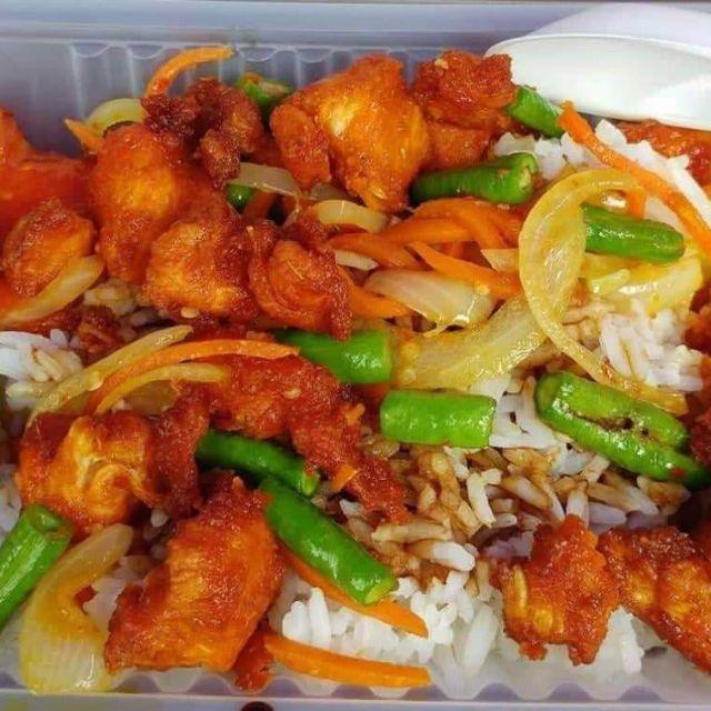 Nasi Ayam Goreng Kunyit Bajet Rm5 Shopee Malaysia