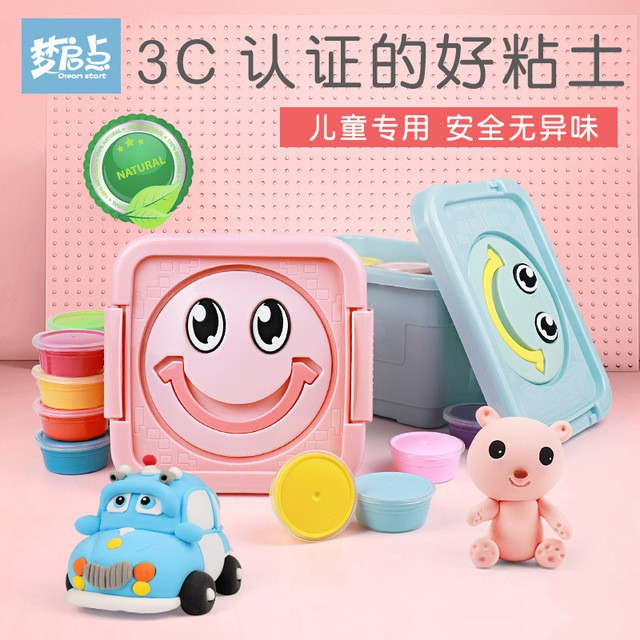 PREMIUM 12 COLOR 24 COLOR DOUGH DIY ONE TIME CLAY MOULDS FRIENDLY NON TOXIC HARMLESS CREATIVE ANY SHAPE TOY FORM TOYS