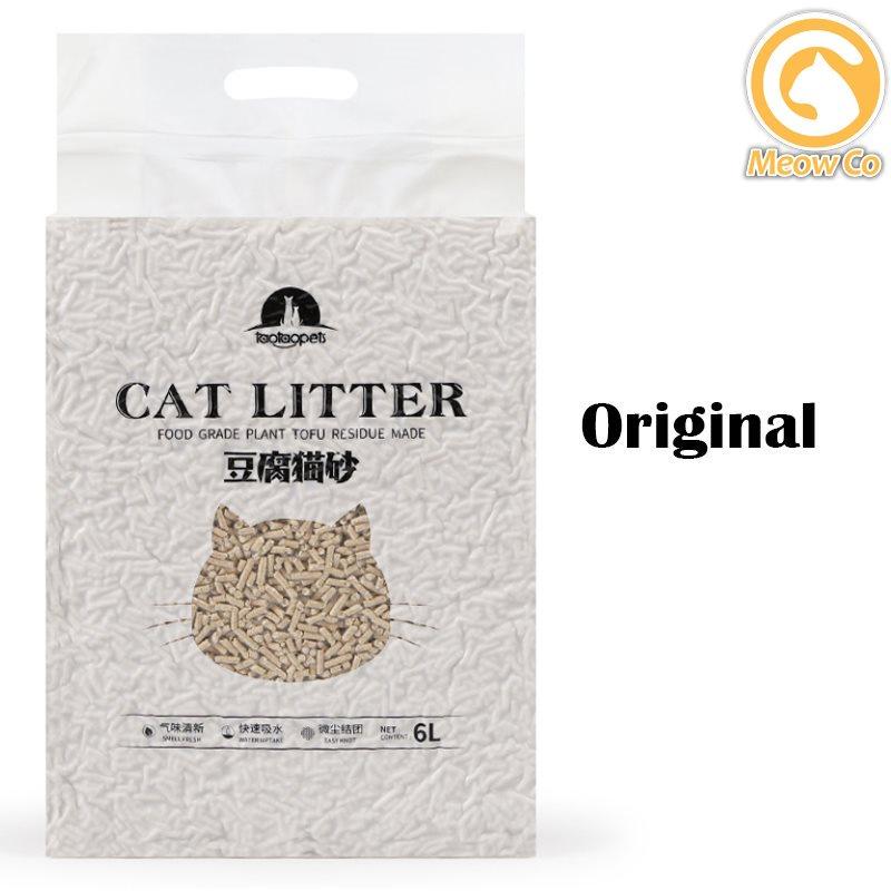 Scented and Natural Cat Litter Tofu Cat Litter Sand 6L Pasir Kucing Wangi