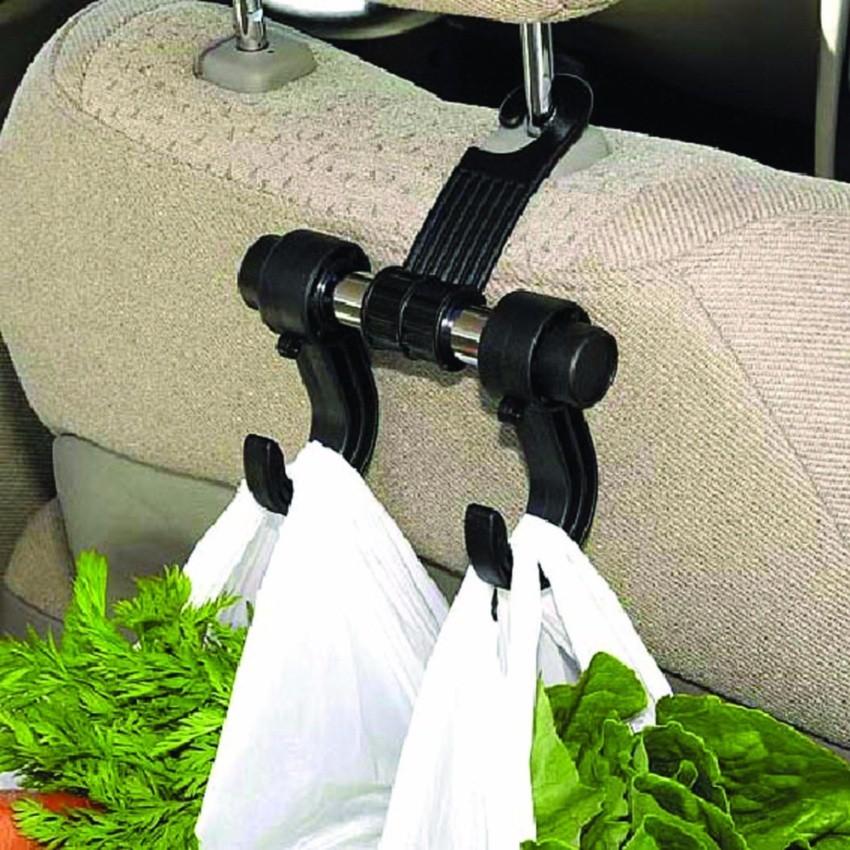 ตะขอแขวนของ ตะขอที่แขวนถุงและกระเป๋าในรถ (สีดำ) 1 ชิ้น  g