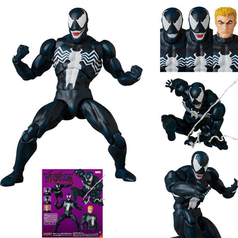 Yamaguchi Venom No.003 Amazing Spider-Man Eddie Action Figure Comic Toy 17cm