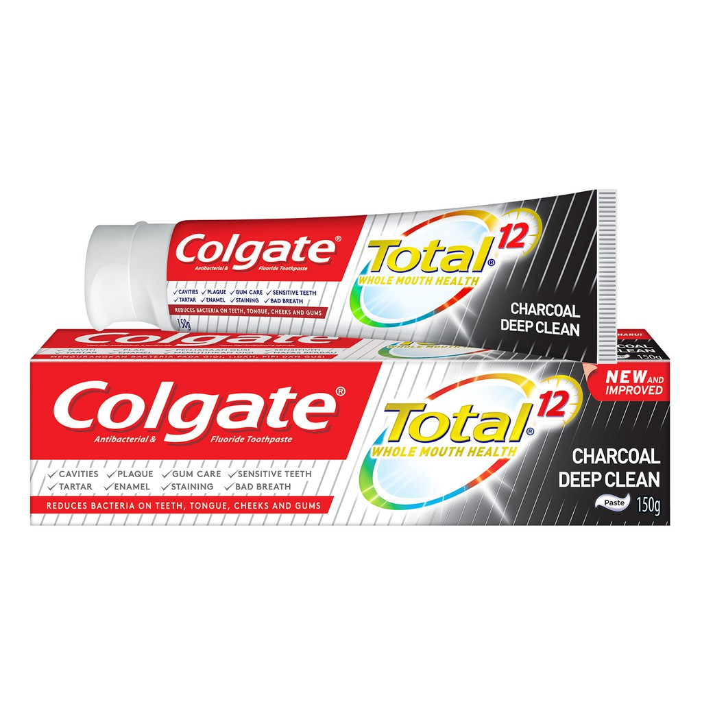 Colgate Total Charcoal Deep Clean (150g)
