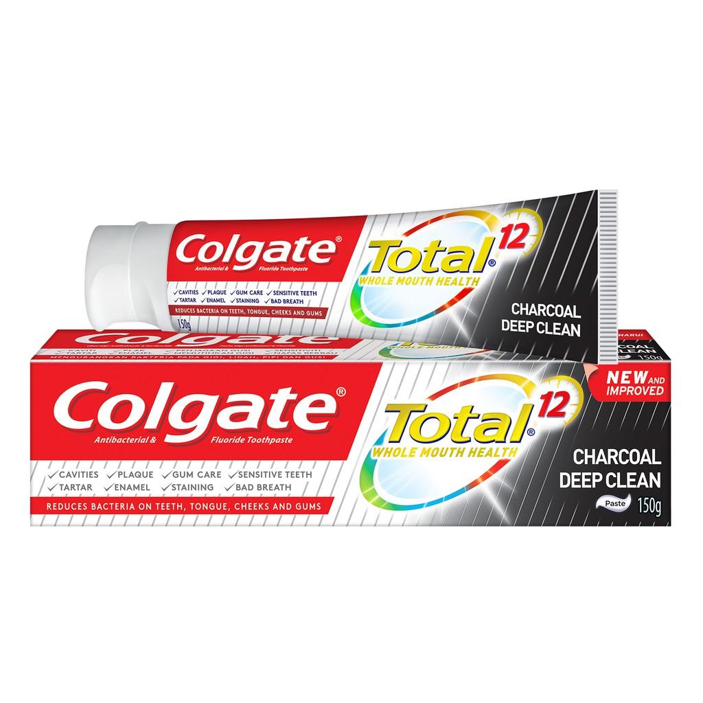 Colgate Total Charcoal Deep Clean (150g)