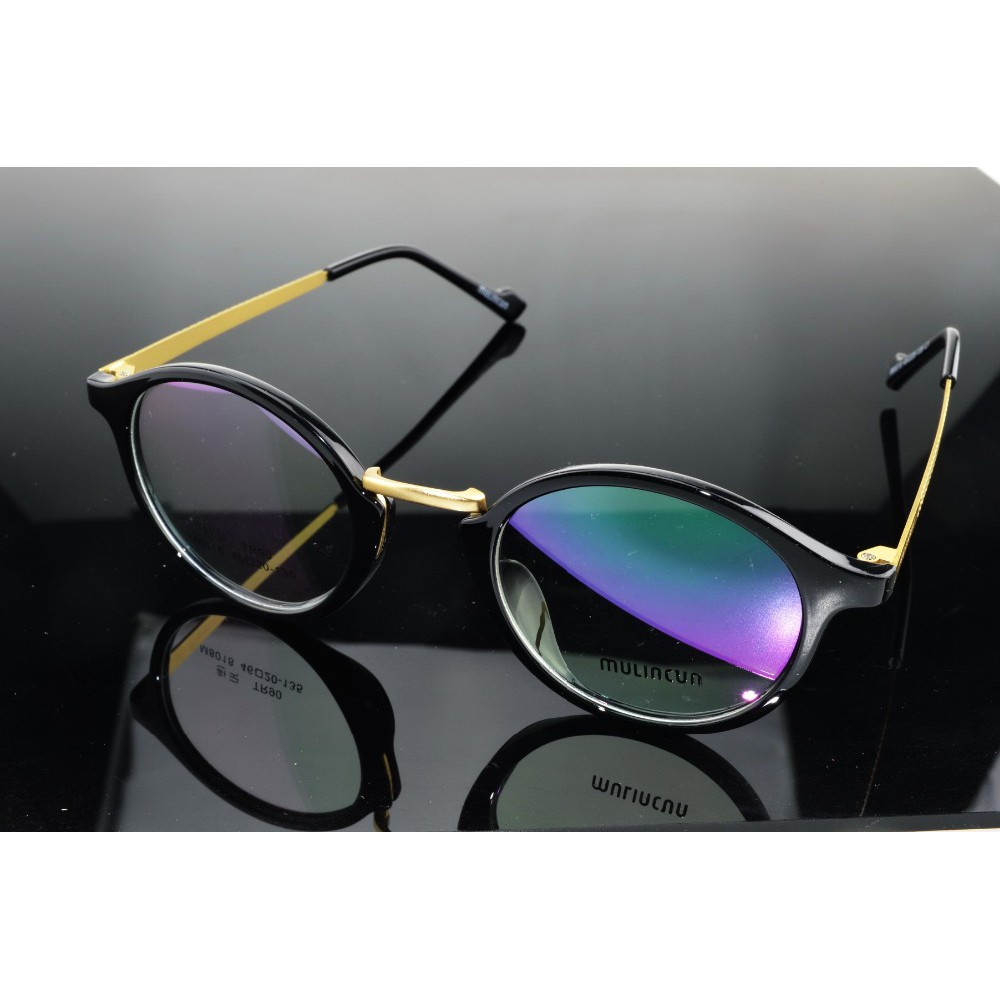 3189c66f321d HALFRIM FRAME BRAND Pure Titanium ultra light weight black custom Glasses  frames