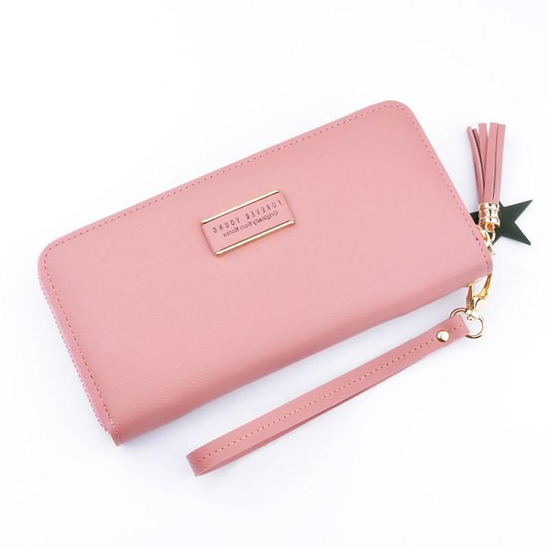 Women Ladies PU Leather Wallet Long Zip Purse Card Holder Case Clutch LC