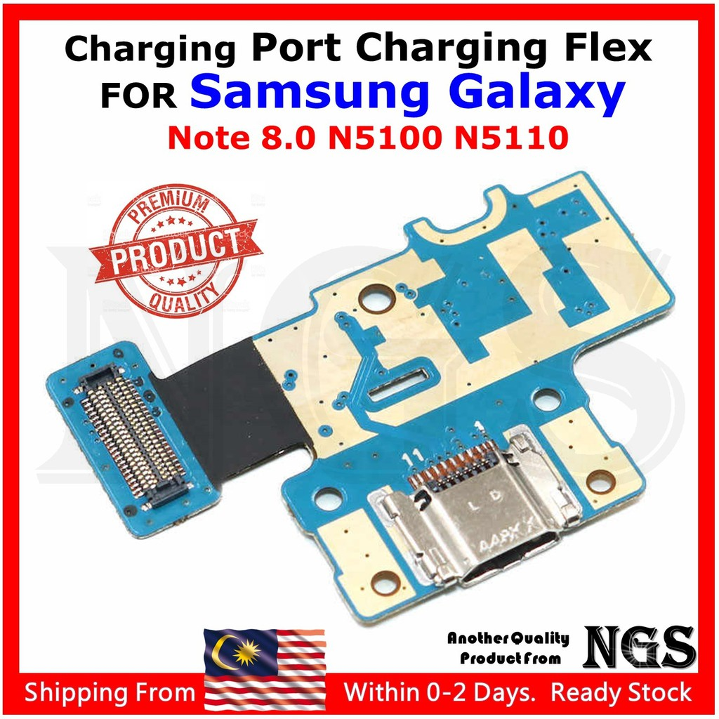 Charging Port Charging Flex For Samsung Galaxy Note 8 0 N5100 N5110 With  Mic + Opening Tools