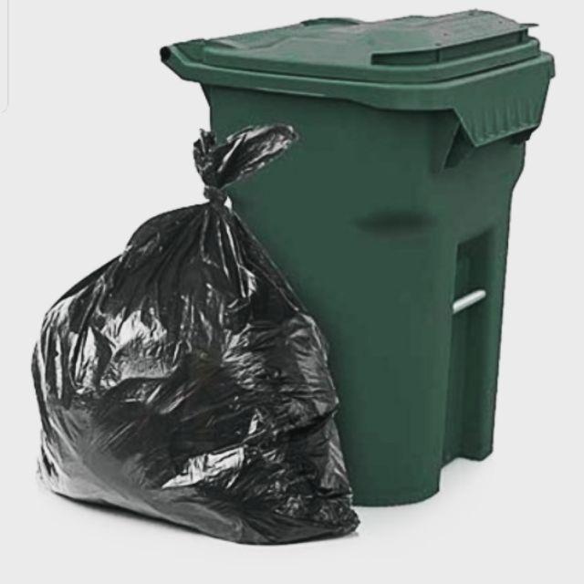Maxonic 10pcs Heavy Duty Garbage Bag / Plastik Beg Tong Sampah (36 x 46 Inch)