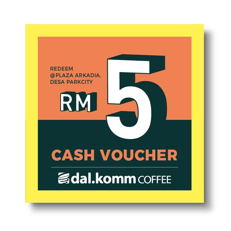 Dal komm Coffee Plaza Arkadia Desa Park City [RM 5 Cash Voucher]